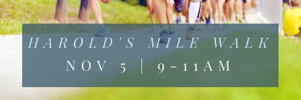 Harold's Mile Walk
